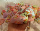 Easter Chicks Set of 3 Chicks Eclectic Cute Easter Basket Chicks Display Chicks Table Setting Chicks Party Favor Kitchen Decor