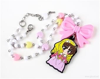 Cardcaptor Sakura Li Syaoran Princess Necklace, Pastel Colors, Cute Jewelry, Cute Necklaces, Fairy Kei, Sweet Lolita