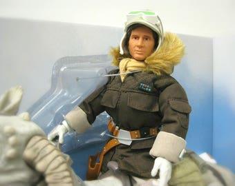 "Star Wars Han Solo Doll, Star Wars Christmas Gift Men, Star Wars Gift for Kids, Star Wars Toys, 12"" Action Figures, Han Solo and Tauntaun,"