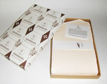 Amatruda hand-made wedding  invitations Amalfi,   watermarked paper,100 pz.  1035
