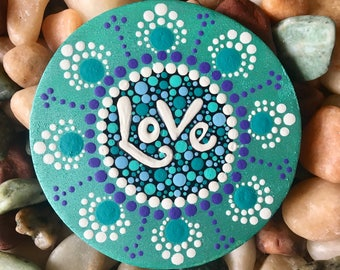 Painted Wooden Magnet