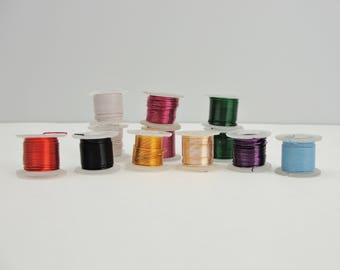 Craft wire 24/26 gauge 9 colors 60 yards total