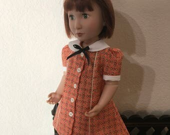 1930's Style Dress for 16 inch doll