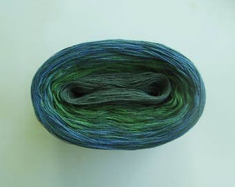 GAELIC MEDLEY  Color Changing Cotton yarn  480 yards/100 gr  Fingering Weight