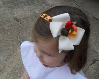 Gobble Gobble Turkey - Thanksgiving Headband