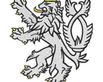 Embroidery Machine File  08004-03-05 Liftarn White Lion