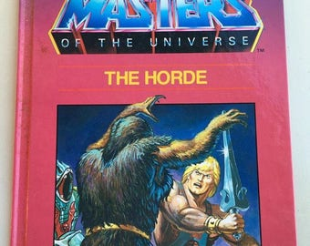 1985 He-Man Masters of the Universe hardcover book