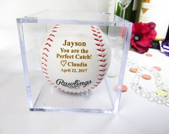 Wife to Husband Gift, Boyfriend Gifts, First Anniversary Gift, Valentines Gift, Baseball Lovers, Love Note for Him, Bride to Groom Gift
