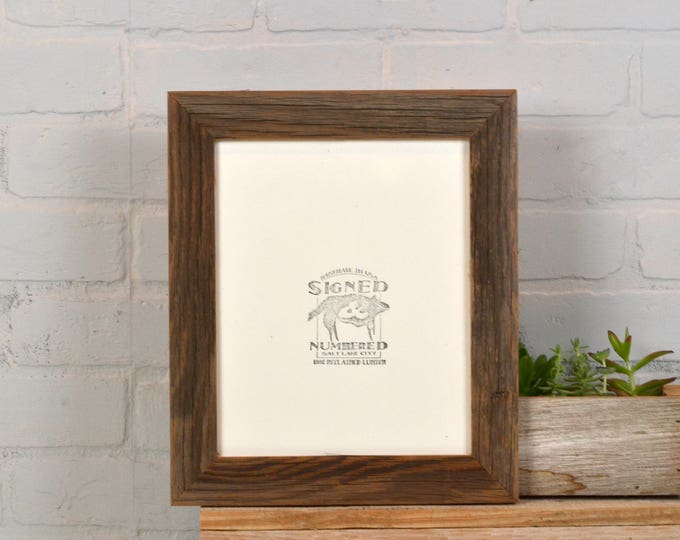 """8x10 Rustic Natural Reclaimed Cedar Picture Frame IN STOCK - Same Day Shipping - Upcycled 8 x 10 Reclaimed Wood Photo Frame -8x10"""" Frames"""