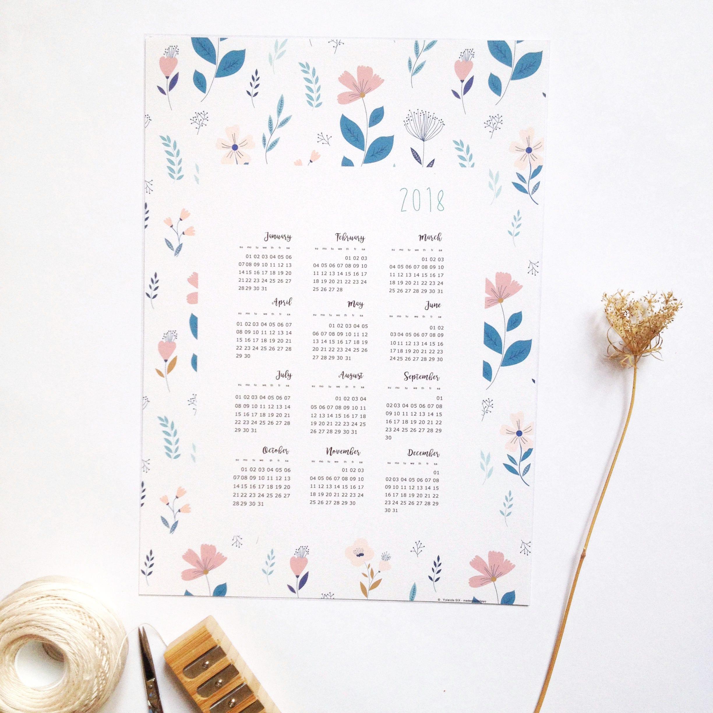 calendrier 2018 calendrier mural 2018 calendrier fichier. Black Bedroom Furniture Sets. Home Design Ideas