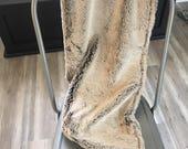Ivory faux fur wrap faux fur wrap stole shawl bridesmaid bridesmaid gift chocolate tan