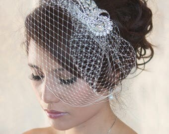 Wedding Birdcage  -  Brooch only