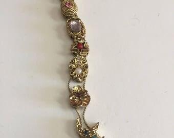Costume slide bracelet