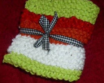 Crochet or knit dishcloths