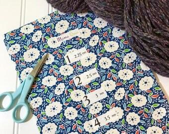 BLUE MUM,  Hanging Circular Knitting Needle Holder, 8 in x 26 in.