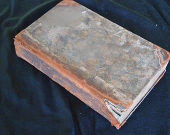 Antique The Adventures of Gil Blas of Santillane by T Smollet 1824 Vol. 1 Book