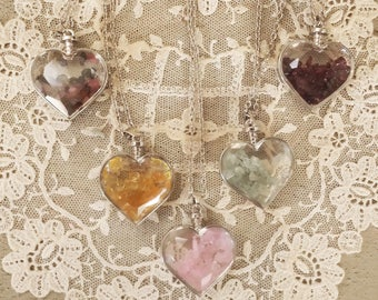 Heart Gemstone Pendant
