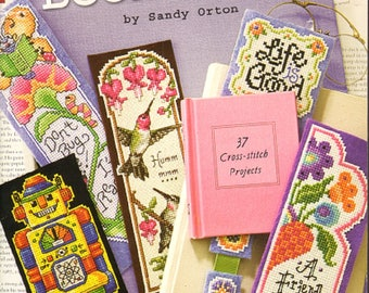 Hold That Thought Bookmarks by Sandy Orton Leisure Arts Cross Stitch Book