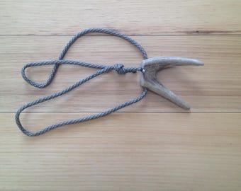 Forked Antler Necklace