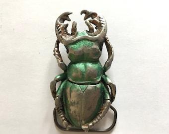 Scarab Beetle Belt buckle