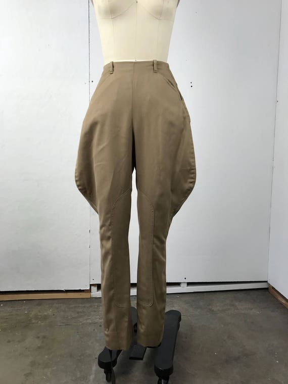 Beige Riding Pants