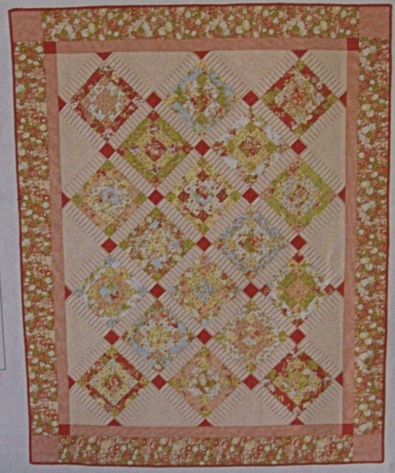 American Patchwork And Quilting 2008 Calendar Insert Used