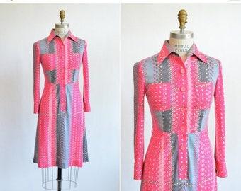 25% off Storewide // Vintage 1970s LUISA designer wool dress