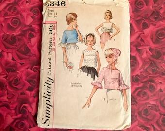 60's Vintage Teen Sewing Pattern