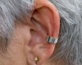 Ear cuff, jewelry gifts, handmade ear cuff, gifts for him, silver ear cuff, small earrings, tiny ear cuff, Christmas gifts, gifts for him