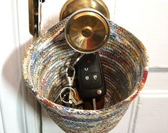 """Hanging Organizer - Key Holder - Door Knob Organizer - Free shipping - The """"KNOB FOB"""""""