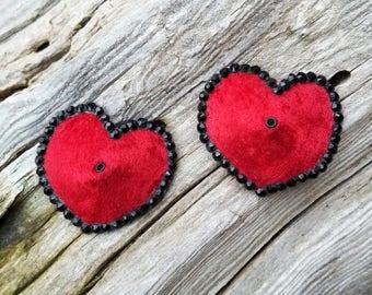 Handmade Heart Pasties