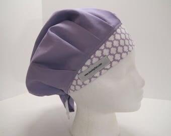Bouffant Lavender Scrub Hat, lilac_bouf_2017
