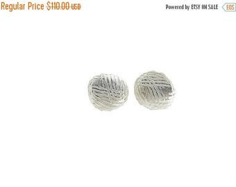 Sample Sale Large Stone Stud Earrings | recycled sterling silver | large silver stud earrings | Eco friendly jewelry | recycled silver stud