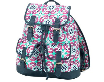 Mia Tile Campus Backpack - Free Personalization