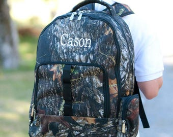 Camo Backpack - Free Personalization