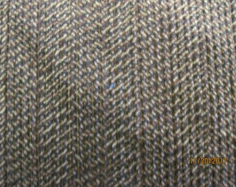 Corduroy black/brown/tan herringbone pattern