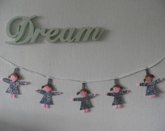 Rag Doll Bunting/Nursery Bunting