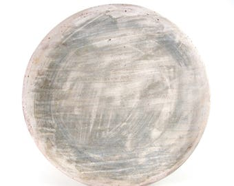 Lunch Plate with Gray Surface
