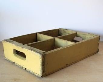 Vintage Wooden Soda Crate