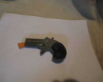 Vintage Miniature Derringer Toy Pistol Cap Gun, Made In Italy, NOT WORKING, collectable