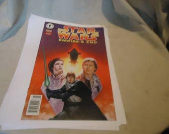 Vintage 1995 Star Wars Empire's End 1 of 2 Comic, collectable