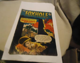 Vintage 1964 Foxhole #16 Comic Book, collectable