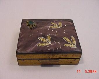 Vintage Turtle Compact  17 - 798