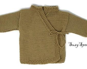 Pattern for Knitted Yoda Jacket\Kimono  | PDF Pattern | Downloadable | Printable