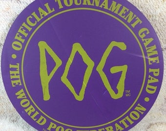 20% SALE 1994 Pog Game Pad Play Matt Official Tournament Game Pad 90s Games