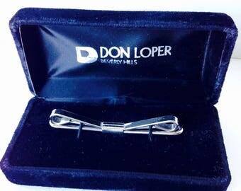 Vintage Don Loper Tie Slide Beverly Hills