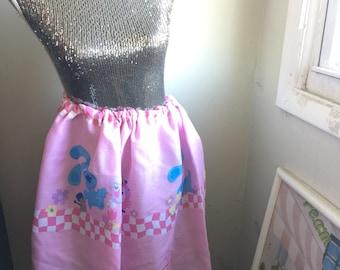 Blue Clues High Waisted Womens Skirt