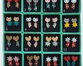 Mighty Mini 2 Piece Dangle Studs - choose one pair