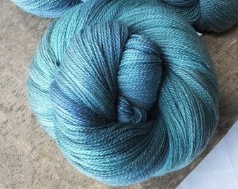 Cypress Grove - Hand Dyed Merino Silk Lace Yarn