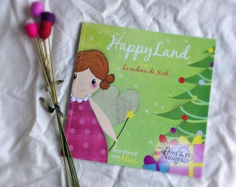 Book illustrated child paper * HappyLand *.